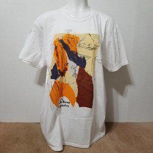 Sabrina Carpenter shirt XL Almost Love abstract